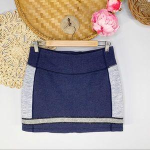 Lululemon   Refresh Stretch Colorblock Mini Skirt